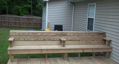 Deck Planters Amp Benches