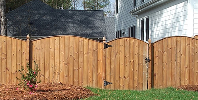 cary privacy fence installation residential privacy fence design