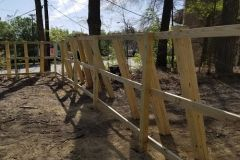 Wooden Privacy Fence - Durham Fence Installation