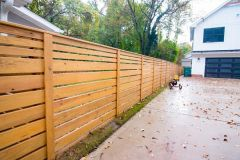 Wood Fence Installation - Durham NC