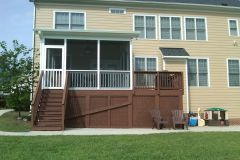 The Two Phase Build Process of Adding a Screened Porch or Deck to your Home
