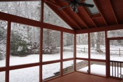 Making the Most of a Screened-In Porch This Winter
