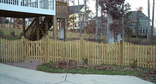 Chapel Hill Picket Fences Residential Picket Fences