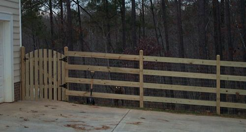 Raleigh Durham Rail And Wire Fences