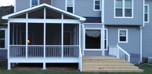 Screened Porch Installation