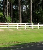 Vinyl Post and Rail Fencing Fabrication