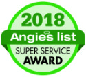 Angie's List 218 Super Service Award